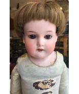 "Antique 22"" Armand Marseille Bisque Head Chest Kid Limbs-370 Boy Doll Sleep Ey - $314.99"