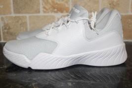 Jordan J23 Low Men Size 11.5 New White Basketball Rare Stylish Sock Like Fit - $118.79