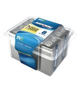 Rayovac Alkaline Batteries Reclosable Pro Pack (9v, 8 Pk) RVCA16048PPF - $26.96