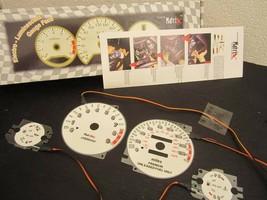 95-99 Mitsubishi Eclipse Turbo 5 Speed Indiglo & Reverse Glow Gauges Gau... - $24.74