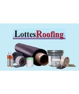 EPDM Rubber SEAMLESS Roofing Kit COMPLETE - 1,600 sq.ft. BY THE LOTTES C... - $2,044.23