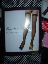 Leg Ave White  Fishnet thigh-highs woman thigh hi stockings - $7.50