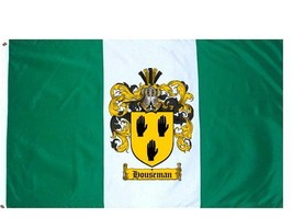Houseman Coat of Arms Flag / Family Crest Flag - $29.99