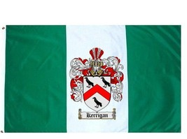 Kerrigan Coat of Arms Flag / Family Crest Flag - $29.99