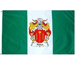 Maza Coat of Arms Flag / Family Crest Flag - $29.99