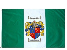 Montgomerie Coat of Arms Flag / Family Crest Flag - $29.99