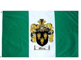 Morey Coat of Arms Flag / Family Crest Flag - $29.99