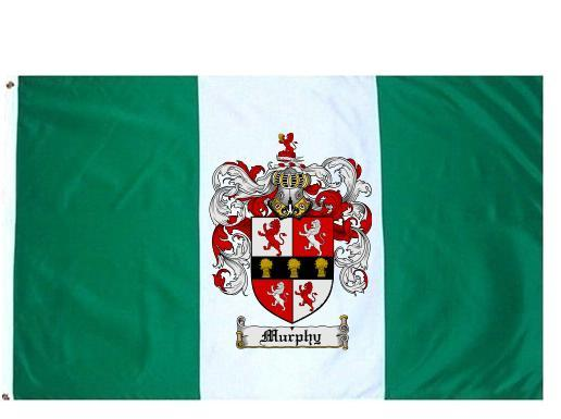 Murphy Coat of Arms Flag / Family Crest Flag