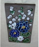 JIE GANTOFTA Sweden Pottery Wall Plaque  Vintage SWEDEN Ceramic Wall Han... - $20.00