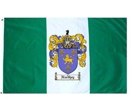 Northey Coat of Arms Flag / Family Crest Flag - $29.99