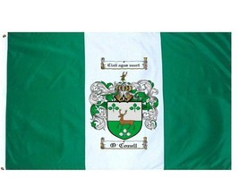 O'Conell Coat of Arms Flag / Family Crest Flag - $29.99