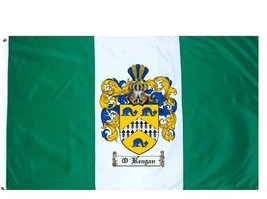 O'Reagan Coat of Arms Flag / Family Crest Flag - $29.99