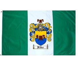 Ritter Coat of Arms Flag / Family Crest Flag - $29.99
