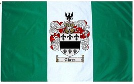 Akers Coat of Arms Flag / Family Crest Flag - $29.99