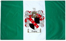 Cayley Coat of Arms Flag / Family Crest Flag - $29.99