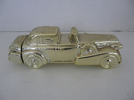 AVON - SOLID GOLD CADILLAC - EXCALIBER AFTER SHAVE CAR BOTTLE - EMPTY - $6.79