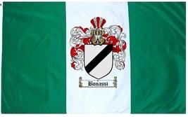 Bonassi Coat of Arms Flag / Family Crest Flag - $29.99