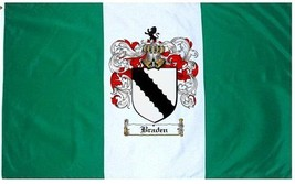 Braden Coat of Arms Flag / Family Crest Flag - $29.99