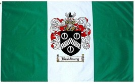 Braidbury Coat of Arms Flag / Family Crest Flag - $29.99