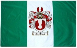 Breitling Coat of Arms Flag / Family Crest Flag - $29.99