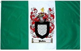 Buffkin Coat of Arms Flag / Family Crest Flag - $29.99