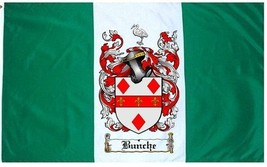 Bunche Coat of Arms Flag / Family Crest Flag - $29.99