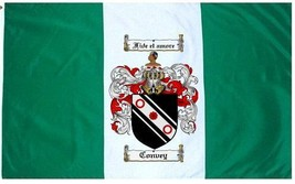 Convey Coat of Arms Flag / Family Crest Flag - $29.99
