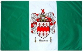 Doddsin Coat of Arms Flag / Family Crest Flag - $29.99