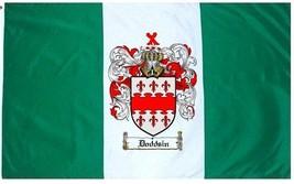 Doddsin Coat of Arms Flag / Family Crest Flag - $29.99