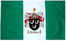 Dodington Coat of Arms Flag / Family Crest Flag - $29.99
