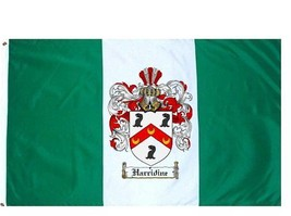 Harridine Coat of Arms Flag / Family Crest Flag - $29.99