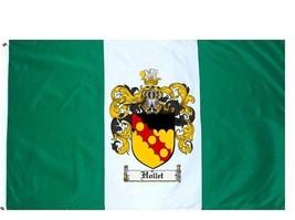 Hollet Coat of Arms Flag / Family Crest Flag - $29.99