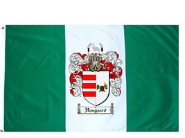 Hougaard Coat of Arms Flag / Family Crest Flag - $29.99