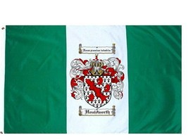 Houldworth Coat of Arms Flag / Family Crest Flag - $29.99