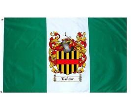Lender Coat of Arms Flag / Family Crest Flag - $29.99