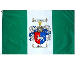 Mabe Coat of Arms Flag / Family Crest Flag - $29.99