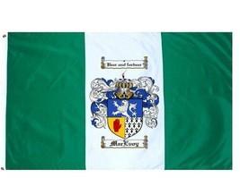Macevoy Coat of Arms Flag / Family Crest Flag - $29.99