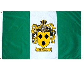 Mcglinchey Coat of Arms Flag / Family Crest Flag - $29.99