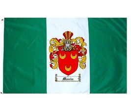 Monin Coat of Arms Flag / Family Crest Flag - $29.99