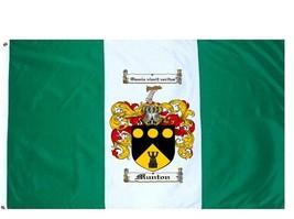 Munton Coat of Arms Flag / Family Crest Flag - $29.99
