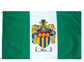 Muse Coat of Arms Flag / Family Crest Flag - $29.99