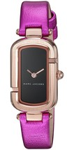 Marc Jacobs Women's MJ1502 Monogram Pink Leather Watch - $128.43