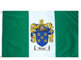 Olroyd Coat of Arms Flag / Family Crest Flag - $29.99