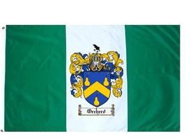 Orcherd Coat of Arms Flag / Family Crest Flag - $29.99