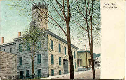 Primary image for Bradford County Jail Towanda Pennsylvania 1908 Post Card