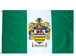 Oxenforde Coat of Arms Flag / Family Crest Flag - $29.99