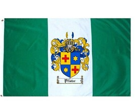 Pfister Coat of Arms Flag / Family Crest Flag - $29.99