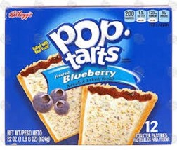 Kellogg's Pop Tarts Frosted Blueberry Toaster P... - $12.82