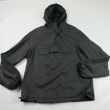 Men MOSSIMO Black lightweight windbreaker rain jacket Size S - $9.99