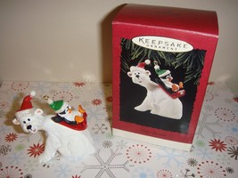 Hallmark 1995 Polar Coaster Ornament - $9.99